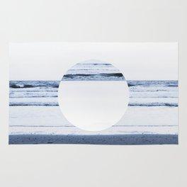 Circle Waves (Dark) Rug