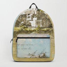 Eilean Donan Castle, Scotland Backpack