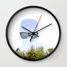 """""""Cloudmouth"""" Wall Clock"""