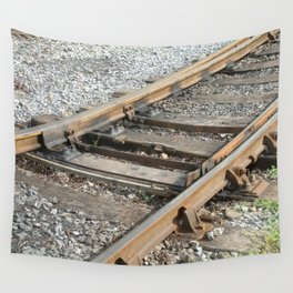 Train Track Wall Tapestry