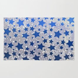 All Stars...(in blue) Rug