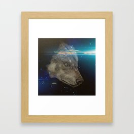 Wolf generation Framed Art Print