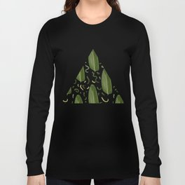 Marching leaves Long Sleeve T-shirt