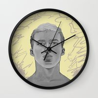kobe Wall Clocks featuring 101 by Opareon