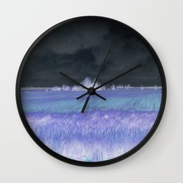 LONELY FARMING Wall Clock