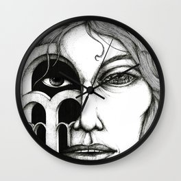Gaze2 Wall Clock