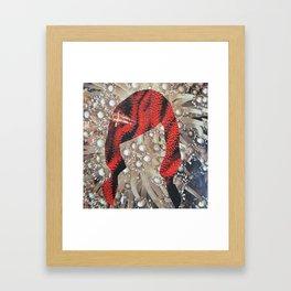 coral freek Framed Art Print