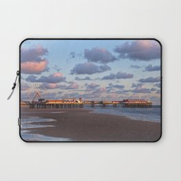 Blackpool Central Pier Sunset Laptop Sleeve