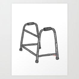 Walker Recovery Art Print