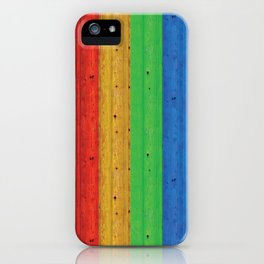 Colours Of The Rainbow iPhone Case