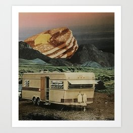 Breakfast with a View Art Print