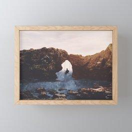 PLAYGROUND UNIVERSE Framed Mini Art Print