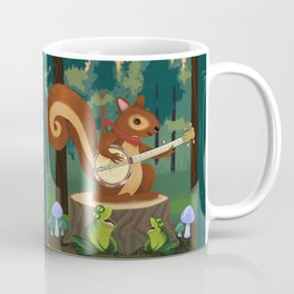 The Nutport Croak Music Festival Coffee Mug