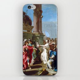 Giovanni Battista Pittoni The Sacrifice of Polyxena iPhone Skin