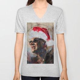 Christmas 4 Unisex V-Neck