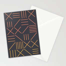 Geometric Shapes 09 Gradient Stationery Cards