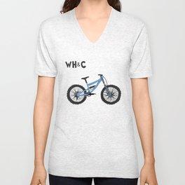 [WHC] Mountain Bike Unisex V-Neck