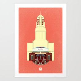 Tower Theater Art Print