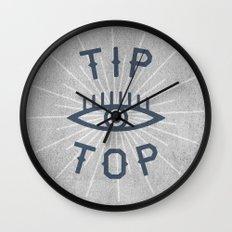 Tip Top Wall Clock