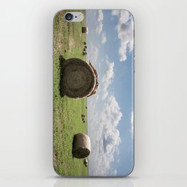 """""""Roll in the Hay"""" iPhone Skin"""