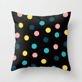 Polka dots I Throw Pillow