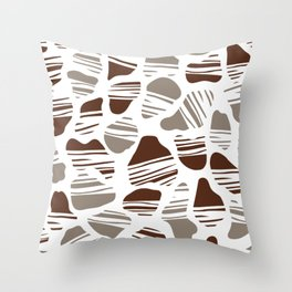 Okapi Animal Print [Native] Throw Pillow
