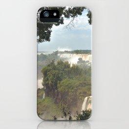 Iguazú Falls iPhone Case