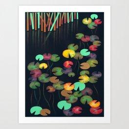 Nénuphars 1 Art Print