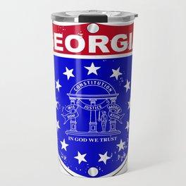 Georgia Interstate Sign Travel Mug