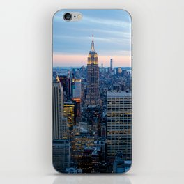 New York City Dusk iPhone Skin