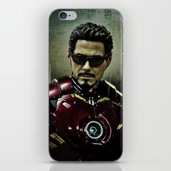 Tony Stark in Iron man costume  iPhone & iPod Skin