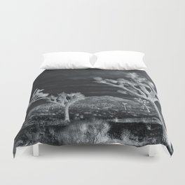 Joshua Tree InfraRed by CREYES Duvet Cover