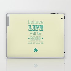 Believe Life Laptop & iPad Skin