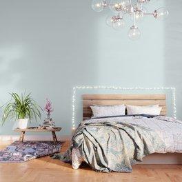 Cheap Solid Light Azure Blue Color Wallpaper