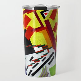 Olga Rozanova Suprematism Travel Mug