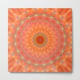 Mandala good mood Metal Print