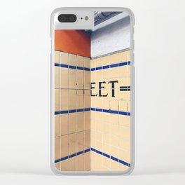 eet Clear iPhone Case