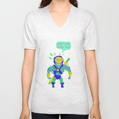 Masters of the universe of love 2 Unisex V-Neck