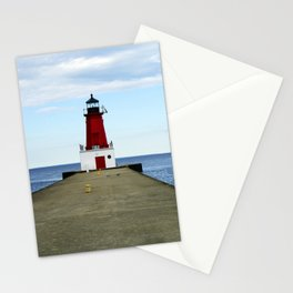 Menominee Lighthouse Stationery Cards