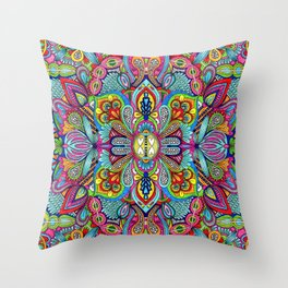 Full of dreams Throw Pillow