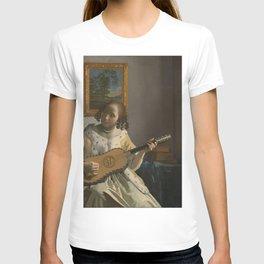 Johannes Vermeer - The Guitar Player T-shirt
