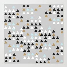 Scandinavian geometric pattern Canvas Print