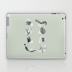 Botanica Letters | Pale Green Laptop & iPad Skin