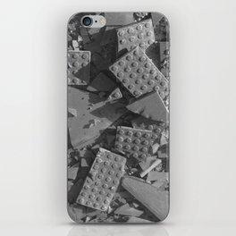 Broken Bricks iPhone Skin