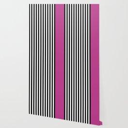Liquorice allsorts, dark pink Wallpaper