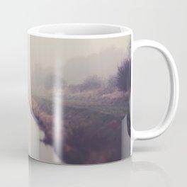 true beauty is a foggy landscape in the English Fens. Coffee Mug