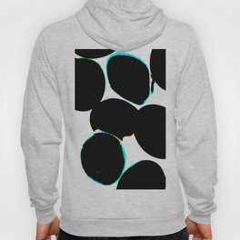 eggs, b&w abstract with a bit of color Hoody
