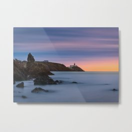 Howth lighthouse - Ireland (RR200) Metal Print
