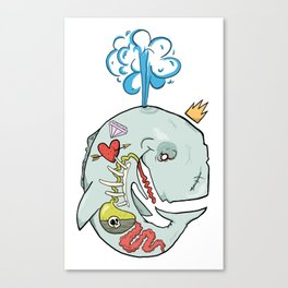 Whale's Belly Canvas Print