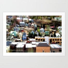 Park City. Art Print